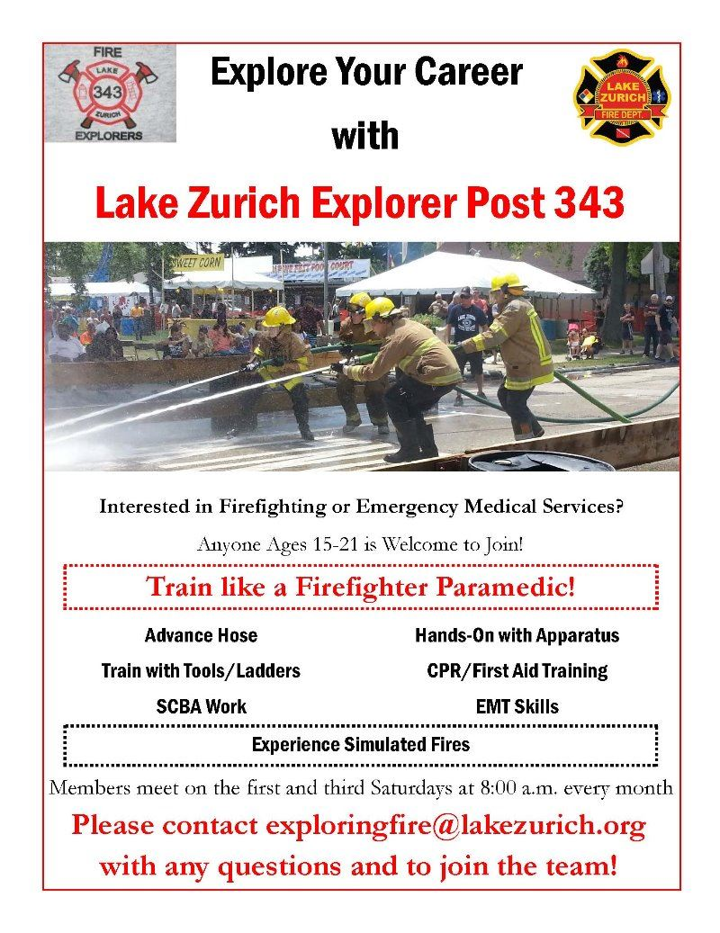 Explorer Post 343 Flyer