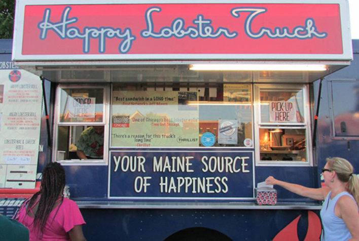The Happy Lobster Truck